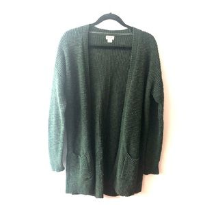 Cozy Forest Mossimo Cardigan